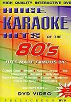 Huge Karaoke Hits: 80's [DVD] [Import]