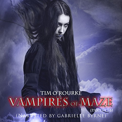 Vampires of Maze audiobook cover art