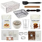 DIY Baking Activity Kit - Baking Set & Supplies for Adults Teens & Kids - Sugar Cookie Mix & Brownie Mix, Perfect Baking Gift Idea for Beginners, Boys and Girls Ages 8-12
