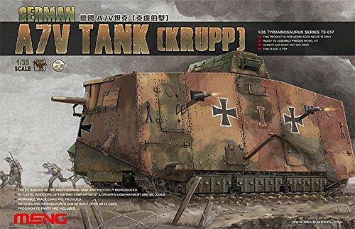 MENG TS017 - 1/35 A7 V Krupp Panzer