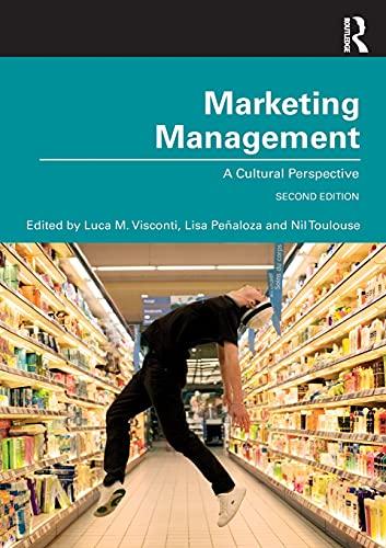 Marketing Management: A Cultural Perspective