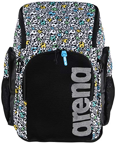 ARENA Team 45 Backpack Allover Mochila de Natación, Unisex Adulto, Skulls, Talla Única