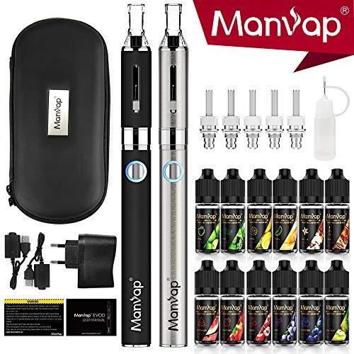Vaper Cigarrillo Electronico, E-Cigarrillo E-líquido Manvap®:2 x E