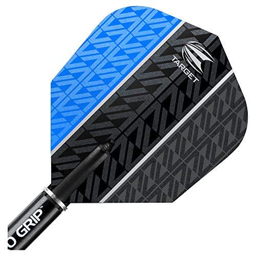 Target Darts Vapor 8 Black Softdarts, Blau - 8