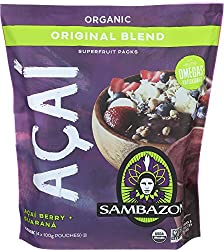 Sambazon Acai Smoothie Original, 14 oz (frozen), 4 ct