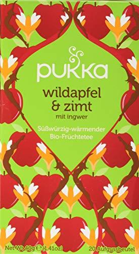 Pukka BIO Tee Wildapfel und Zimt, 20 Beutel, 40 g