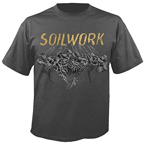 Soilwork - The Ride Majestic - Grey - T-Shirt Größe M