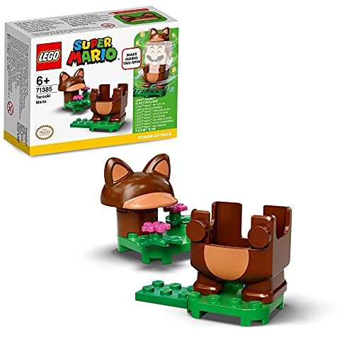 LEGO71385SuperMarioPackPotenciador:MarioTanuki,SetdeExpansiónconTrajeInteractivo
