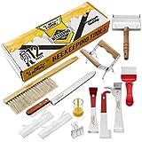 Honey Keeper 12-Piece Beekeeping Tool Kit - Essential Starter Supplies...