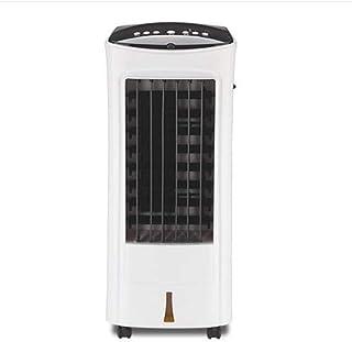 WENYAO Ventilador de enfriamiento doméstico de Doble Uso, cálido y frío Silenciador móvil Pequeño Aire Acondicionado Enfriador de Ventilador frío 7H Timing Tanque de Agua de 3.5L (29 * 30 * 68cm)