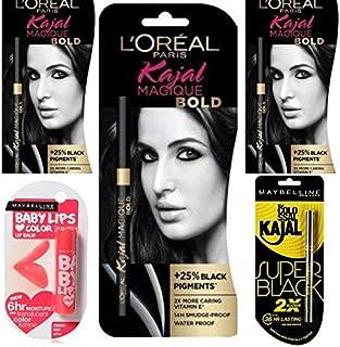Kajal Hub Stylish Kajal for Women Pack of 4