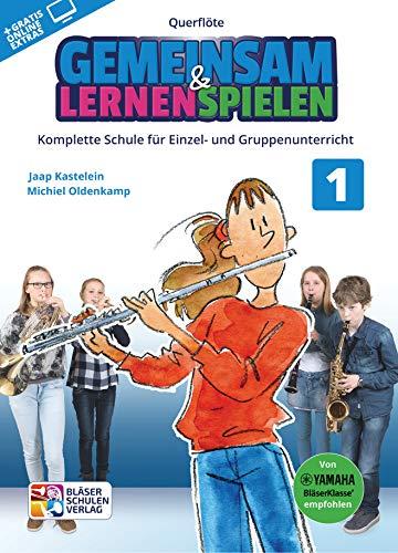 Gemeinsam Lernen & Spielen 1 Querflöte - Book+Audio Online