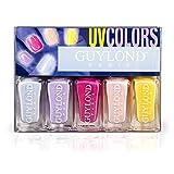 Esmalte de Uñas Guylond Set - UV Colores, 1er Pack (1 x 20 ml)
