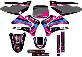 2000-2007 TTR 125, Surge Pink Complete kit, Senge Graphics, Compatible with Yamaha
