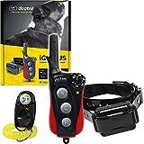 Dogtra IQ Plus+ 1-Dog Remote Training Collar - 400 Yard Range, Waterproof, Rechargeable, Static, Vibration - Includes PetsTEK Dog Training Clicker
