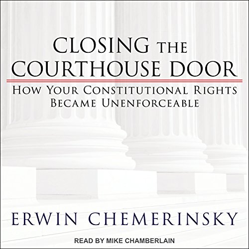 Closing the Courthouse Door audiobook cover art
