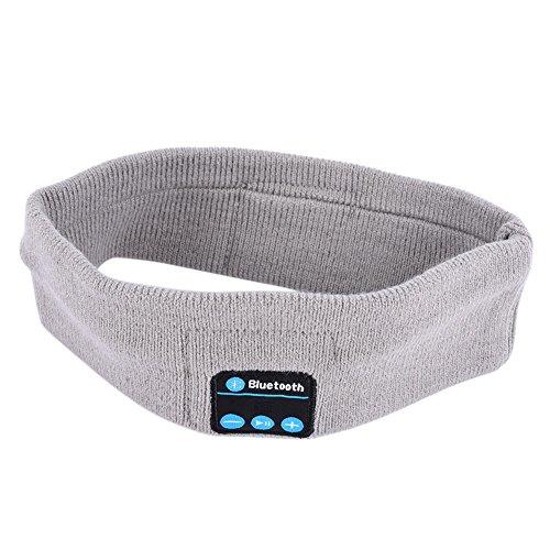 Fone de ouvido esportivo para corrida Efinny Smart Bluetooth, sem fio, elástico, faixa de cabeça, música, alto-falante, microfone