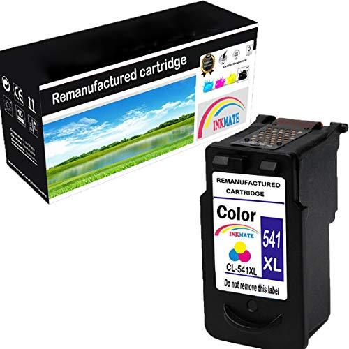 INKMAKE CL541 - Cartucce di ricambio per Canon CL-541XL, compatibili con stampanti Canon Pixma MG3550 MG3650 MG4250 MG3250 MX535