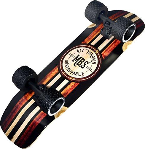 MBS All Terrain Skateboard, 33', Woody