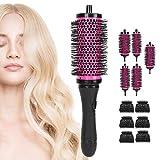 Barril redondo de pelo, barril de peine Cómodo uso de la experiencia Diseño profesional Diseño ergonómico para peluquería para el hogar