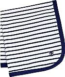 Coolibar UPF 50+ Baby Batibou Sun Blanket - Sun Protective (One Size- Navy/White Stripe)