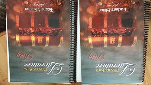 Mosdos Press Literature Ruby Teacher's Edition Spiral Bound 2 Book Set