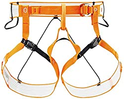 PETZL Unisex– Erwachsene Altitude Geschirr, Orange/Weiß, L/XL