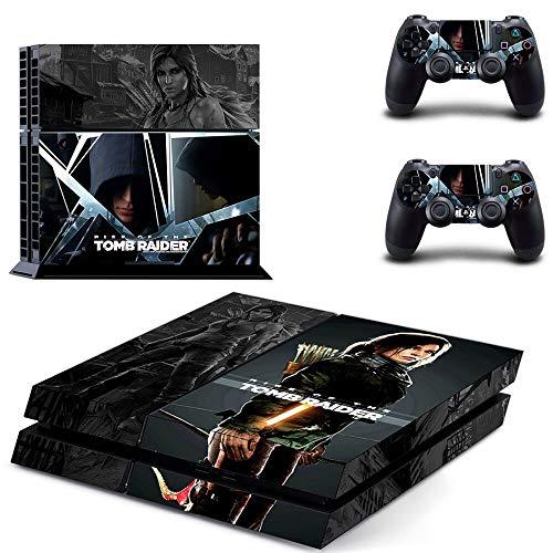 TAOSENG Rise of The Tomb Raider Ps4 Skin Sticker Decal para Playstation 4 Consola y Controlador Skin Ps4 Sticker Accesorios de Vinilo