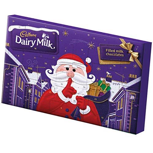 Cadbury Molkerei Milch Advent Kalender 200g