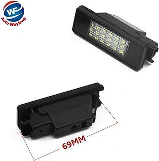 Auto Wayfeng WF® LED SMD Luz de matrícula para CITROEN C2 3D / C3 5D / C4 3D / C4 5D / C5 4D / C5 5D / C6 4D / C8 4D DS3 3D