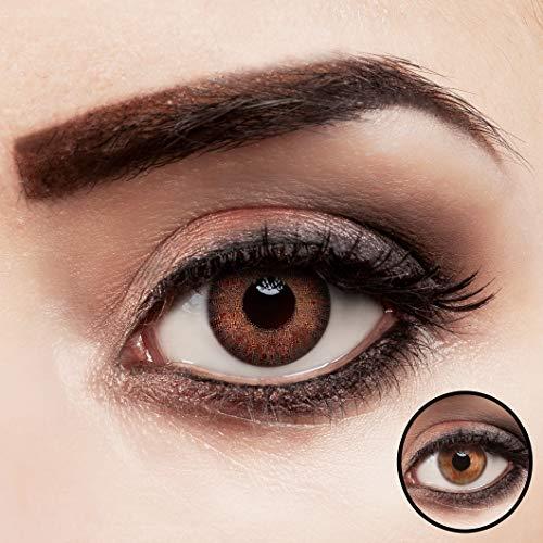 aricona Kontaktlinsen -   braun ohne Stärke