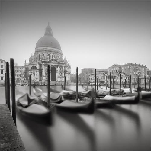 Posterlounge Acrylglasbild 70 x 70 cm: Venedig/Venezia von Silly Photography - Wandbild, Acryl Glasbild, Druck auf Acryl Glas Bild