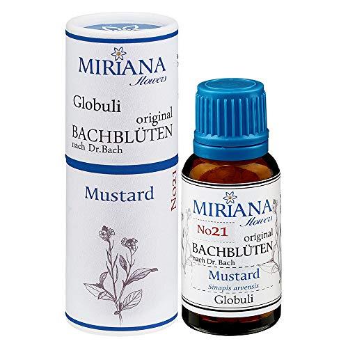 MirianaFlowers Mustard 20g Bachblüten Globuli