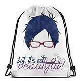 Yasia Rei Ryuugazaki - Free! Iwatobi Swim Club Drawstring Backpack Sport Bag Gym Sack
