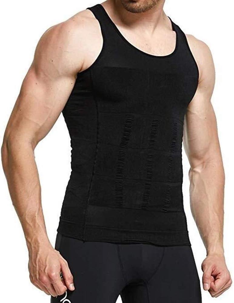 LUFEIAMZ 2019 Men Slimming Body Vest Gorgeous Tummy Slimmin Shaper Max 80% OFF