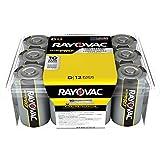 Rayovac UltraPRO Alkaline D Batteries, ALD-12