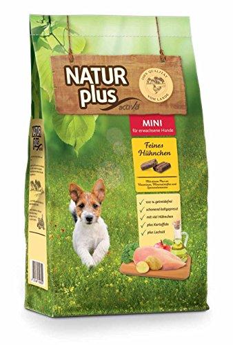 Natur Plus Trockenfutter Hundefutter Adult Mini (getreidefrei) (5 kg)