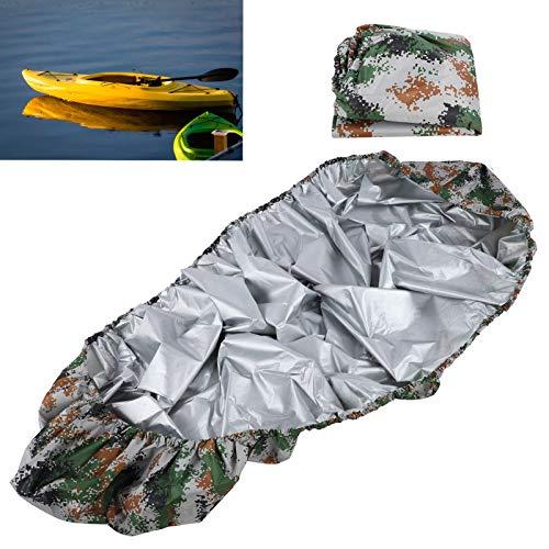 Cubierta de Kayak, Cubierta de Almacenamiento de Kayak Cubierta de Almacenamiento de Barco Que se pliega fácilmente para Barco de Yates para remar para Entretenimiento acuático para