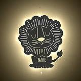 Nachtlicht Leo der Löwe Kinderzimmer-Lampe