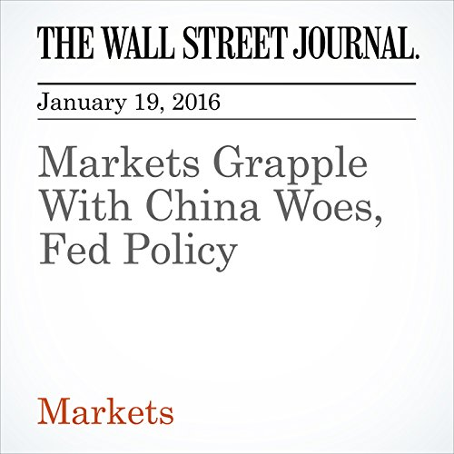 Markets Grapple With China Woes, Fed Policy audiobook cover art