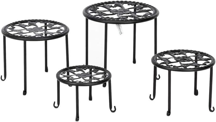 ASSR Metal High material Plants Stand 4Pack Iron Art Modern Time sale Holder Pot