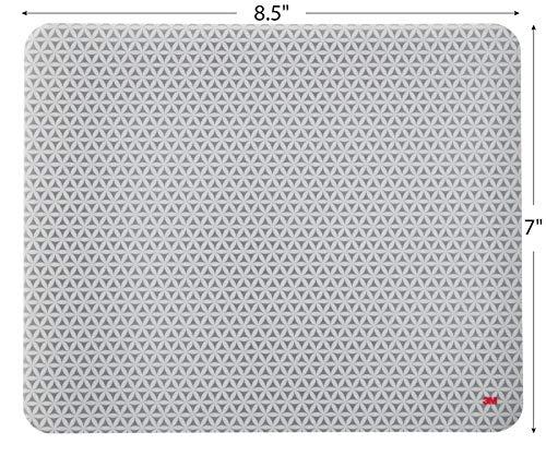 3M Mauspad mit selbsthaftender Unterseite, 21,5 x 17,8 cm, grau | MS200PS - 7