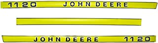 1120DECAL Hood Decal Kit for John Deere 1120