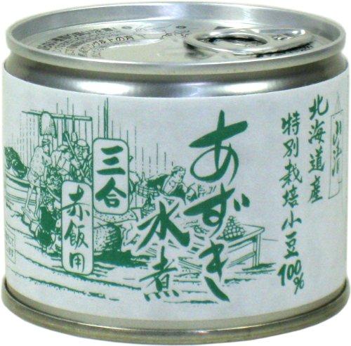 山清 特別栽培小豆小豆水煮6号 210g
