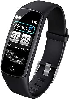 Liukouu V8 Black Smart Watch Smart Bracelet Wristband Watch Heart Rate Monitor Blood Pressure