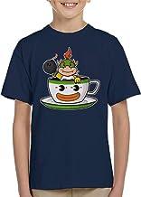 Cloud City 7 Koopa Tea Bowser Super Mario Bros Kid's T-Shirt