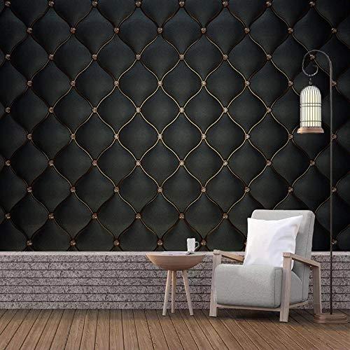 Papel Tapiz Fotográfico Personalizado 3D Rollo Suave Negro Mural Sala De Estar Tv Sofá Dormitorio Decoración Para El Hogar Papel De Pared,300(W)*210(H)Cm