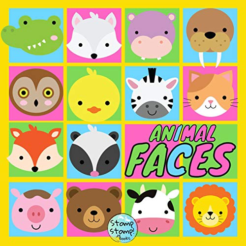 Animal Faces: Wonderful Book Gift for Mother and Little Baby (Baby Books...
