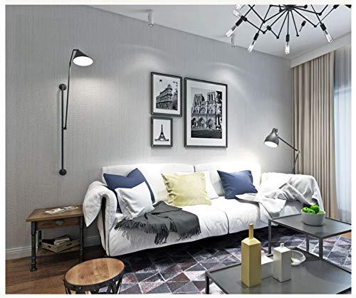 Tapete meliert hellgraues modernes Vliestapete-Plakat-Wand-Dekor für Hotelbüro-Wohnzimmer-Küche
