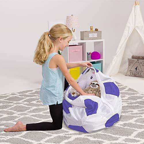 Posh Stofftier-Aufbewahrungs-Sitzsack für Kinder, Spielzeug-Organizer